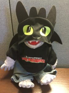 Bumble as Toothless